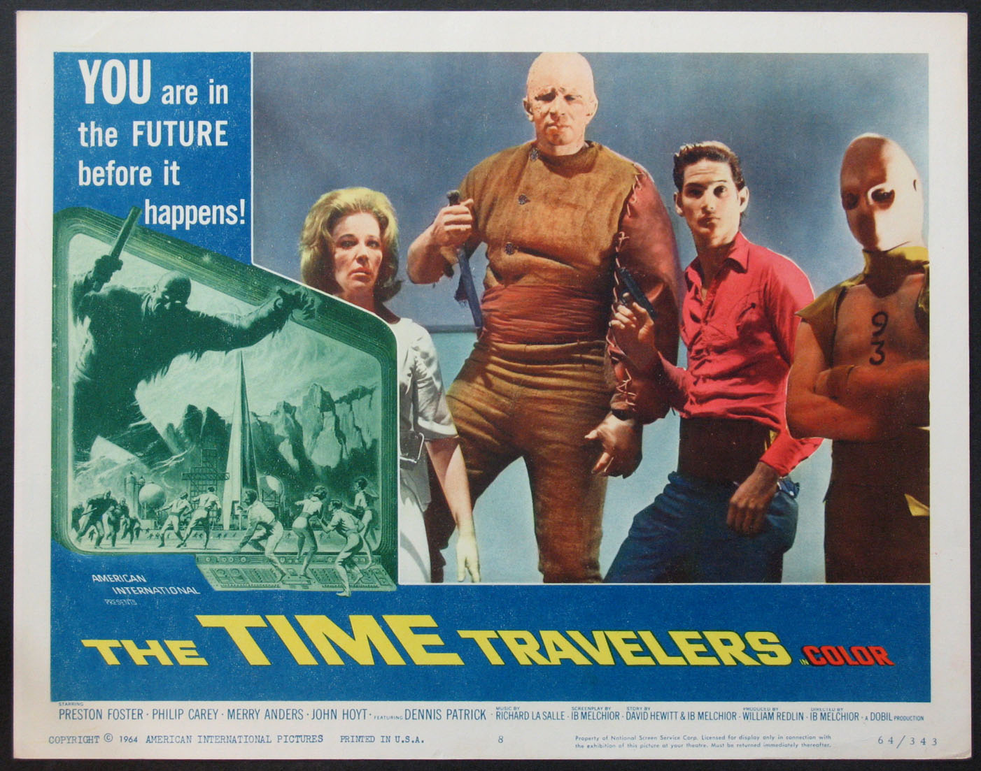 TIME TRAVELERS, THE @ FilmPosters.com
