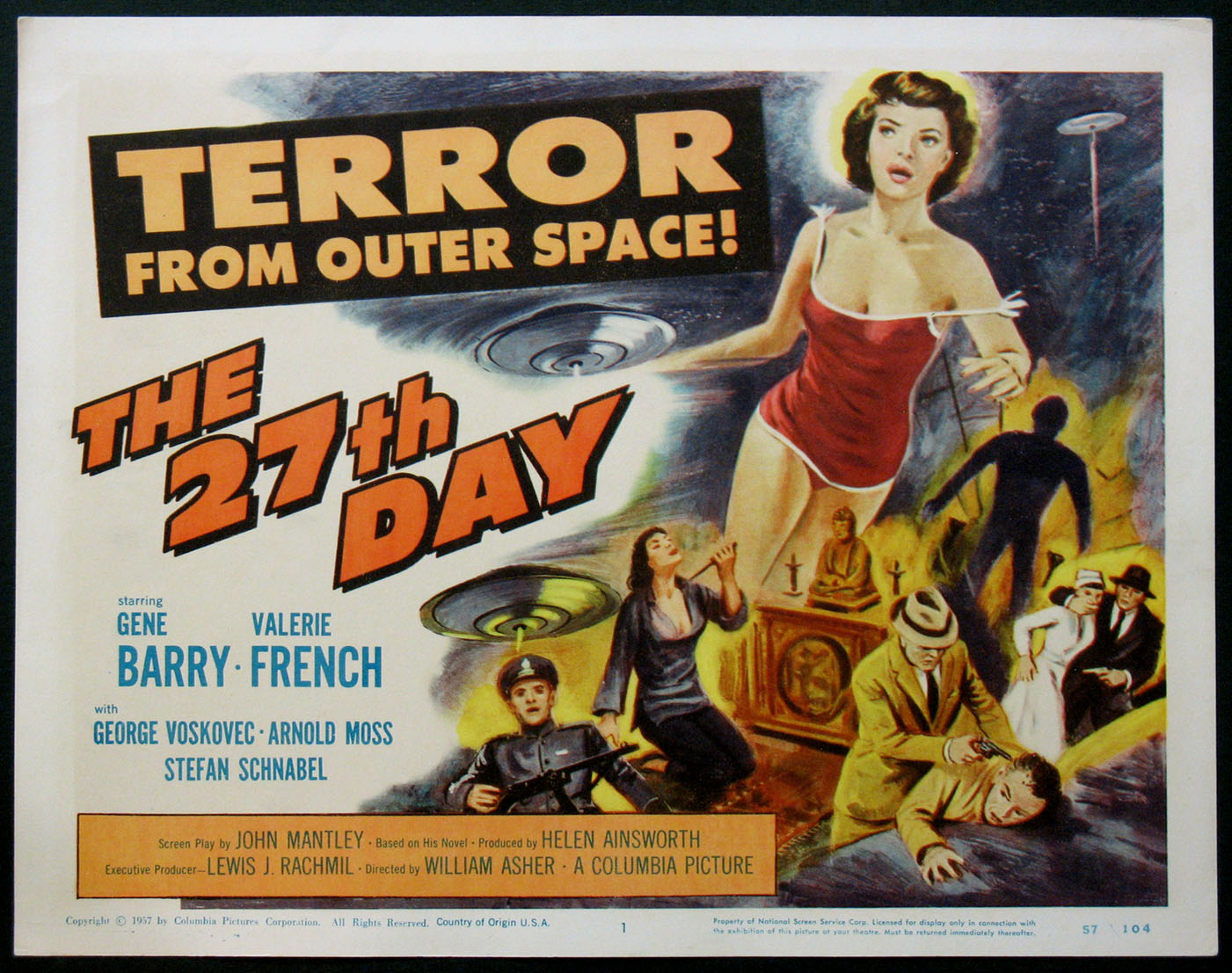 27TH DAY, THE @ FilmPosters.com