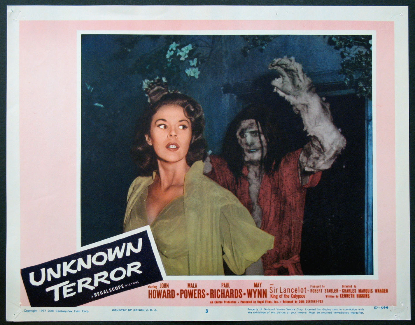 UNKNOWN TERROR @ FilmPosters.com