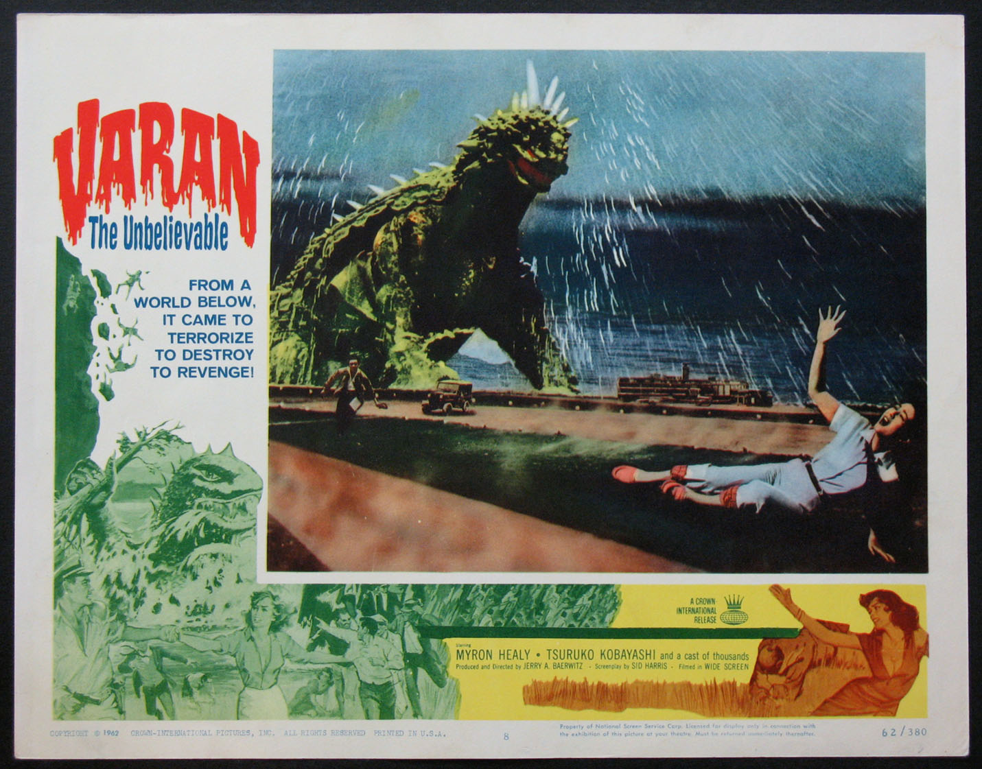 VARAN THE UNBELIEVABLE @ FilmPosters.com