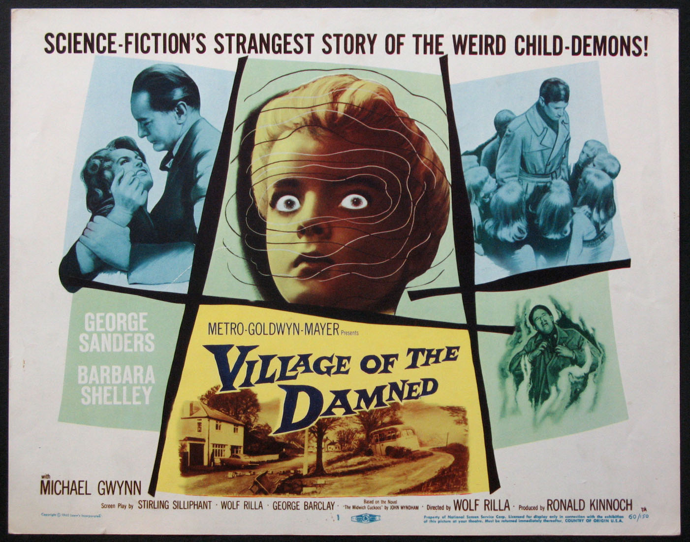 VILLAGE OF THE DAMNED @ FilmPosters.com