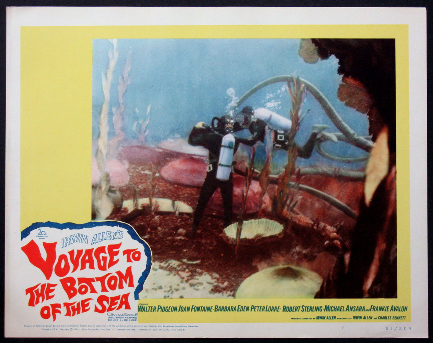 VOYAGE TO THE BOTTOM OF THE SEA @ FilmPosters.com