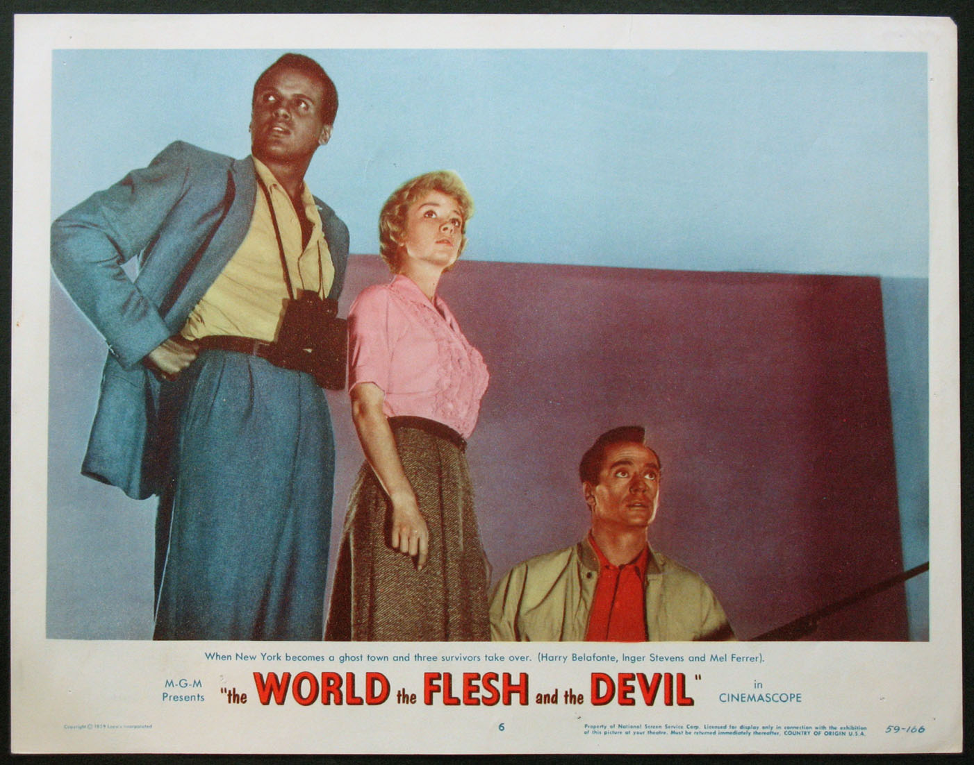 WORLD THE FLESH AND THE DEVIL @ FilmPosters.com