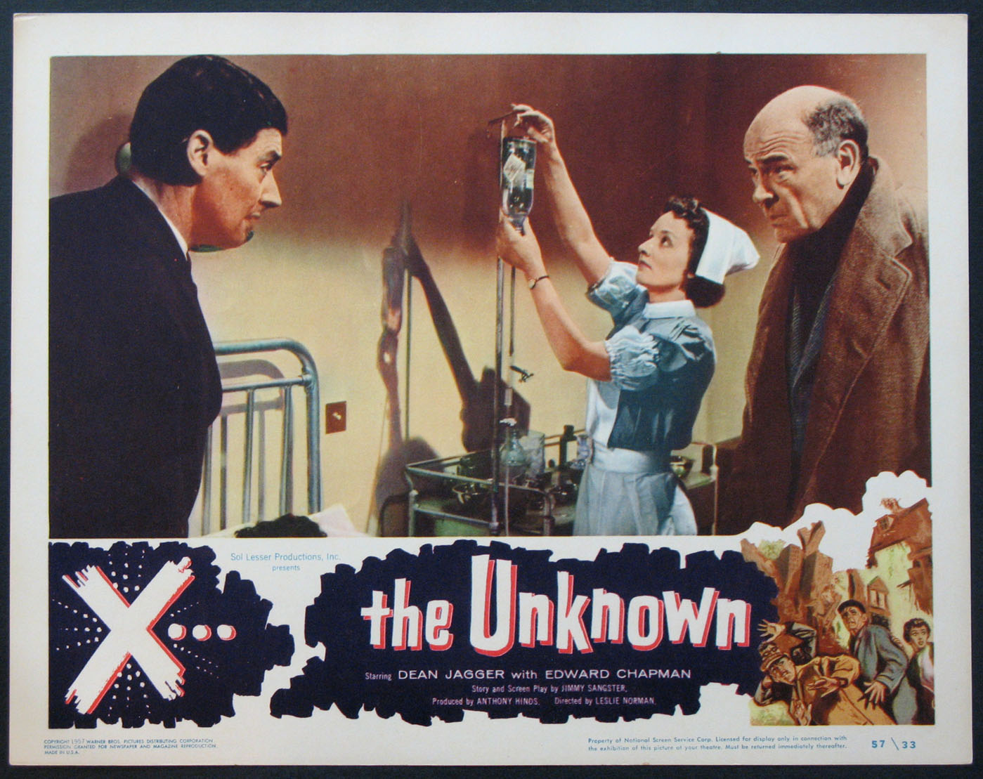 X THE UNKNOWN (X... The Unknown) @ FilmPosters.com