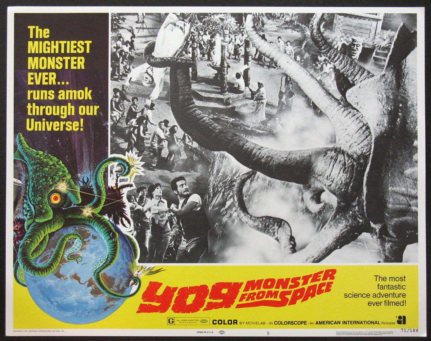 YOG MONSTER FROM SPACE @ FilmPosters.com