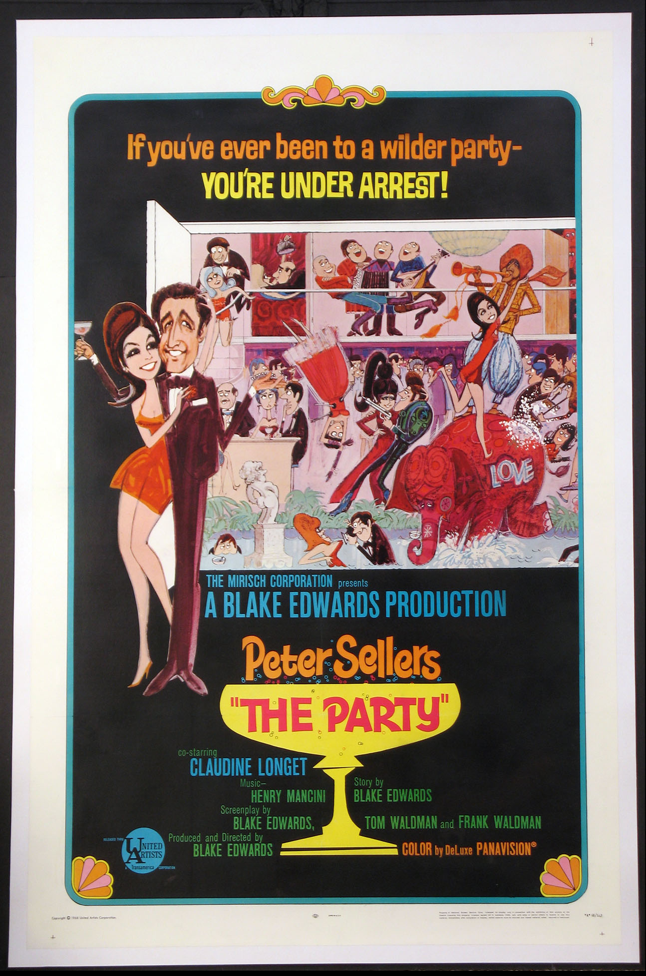 PARTY, THE (The Party) @ FilmPosters.com