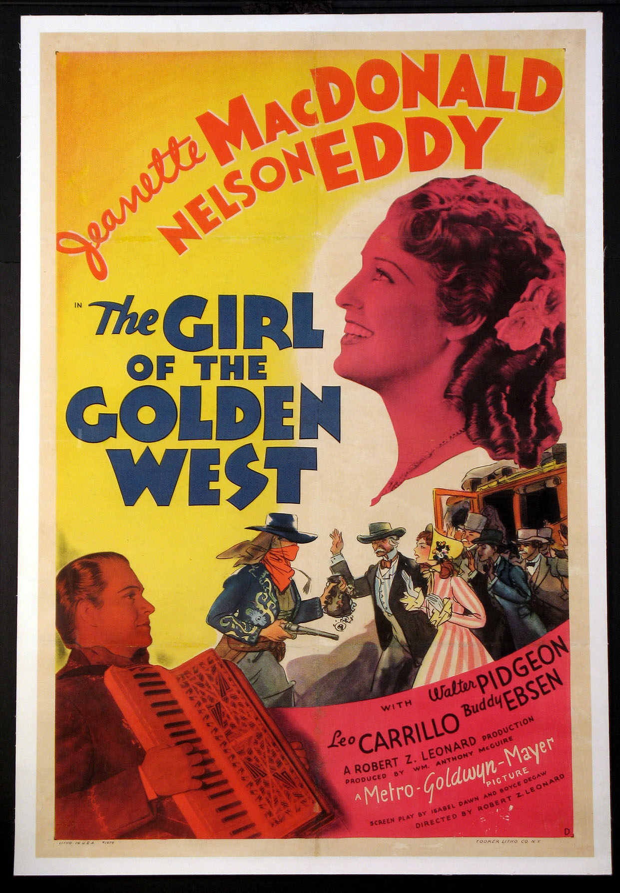 GIRL OF THE GOLDEN WEST, THE @ FilmPosters.com