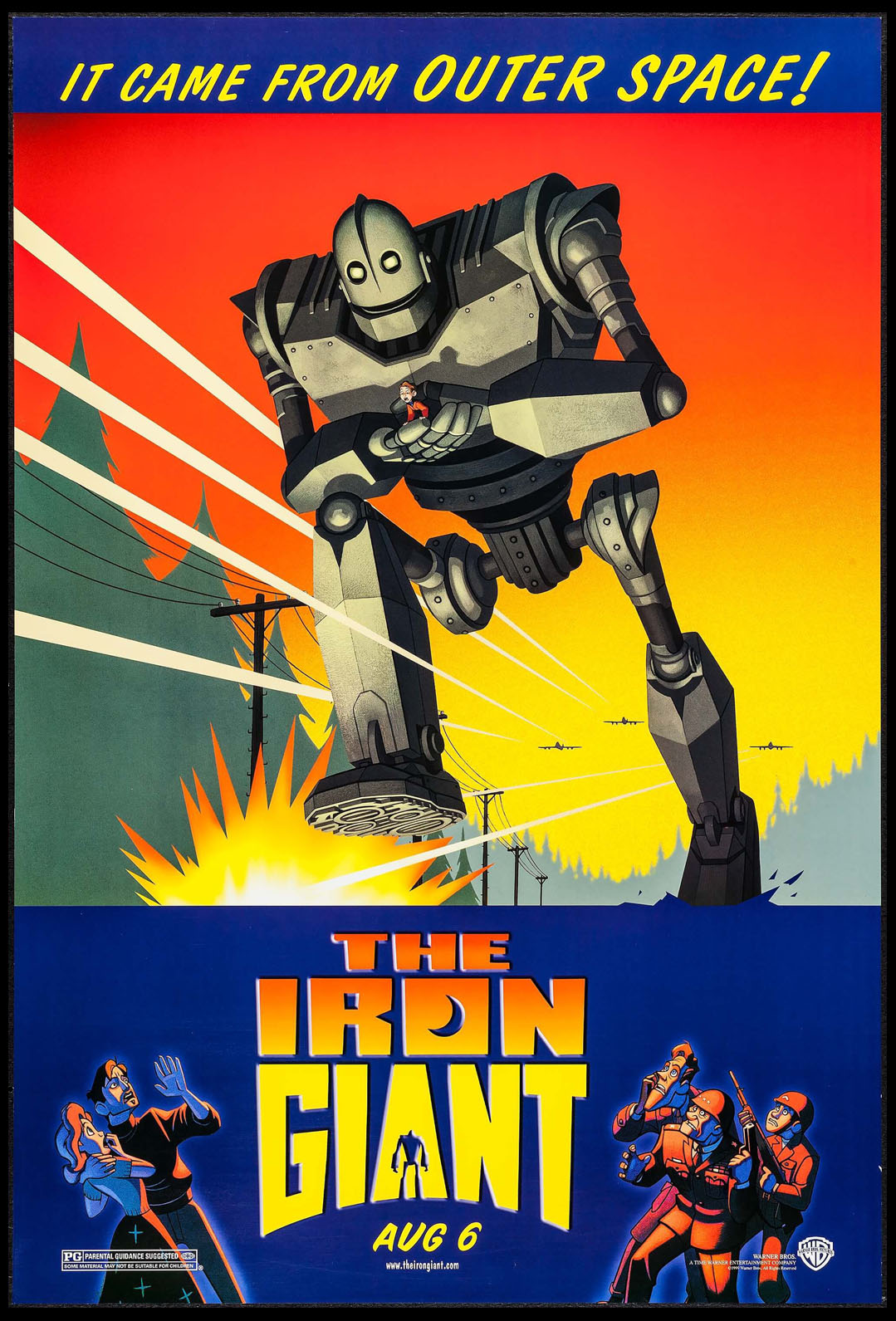 IRON GIANT, THE @ FilmPosters.com