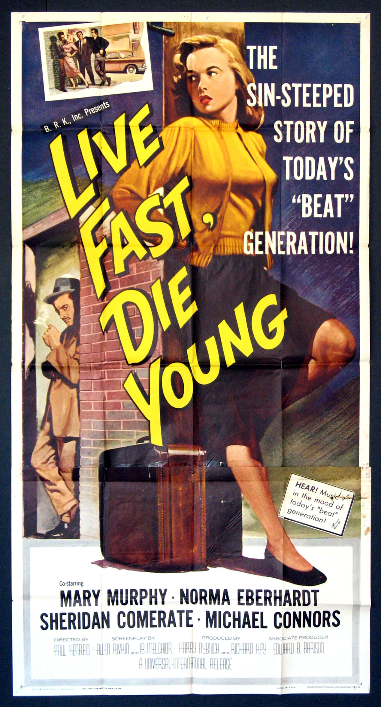 LIVE FAST DIE YOUNG (Live Fast, Die Young) @ FilmPosters.com