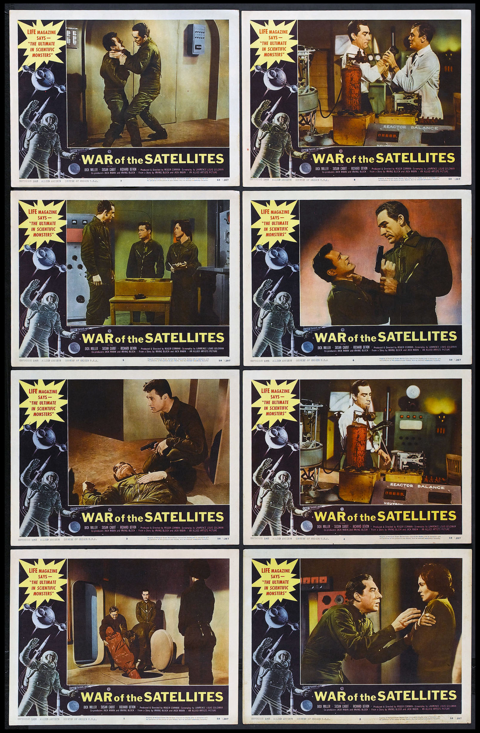 WAR OF THE SATELLITES @ FilmPosters.com