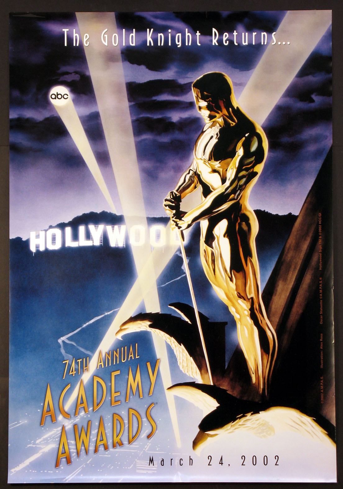 ACADEMY AWARDS, 74th Annual (Oscar) @ FilmPosters.com