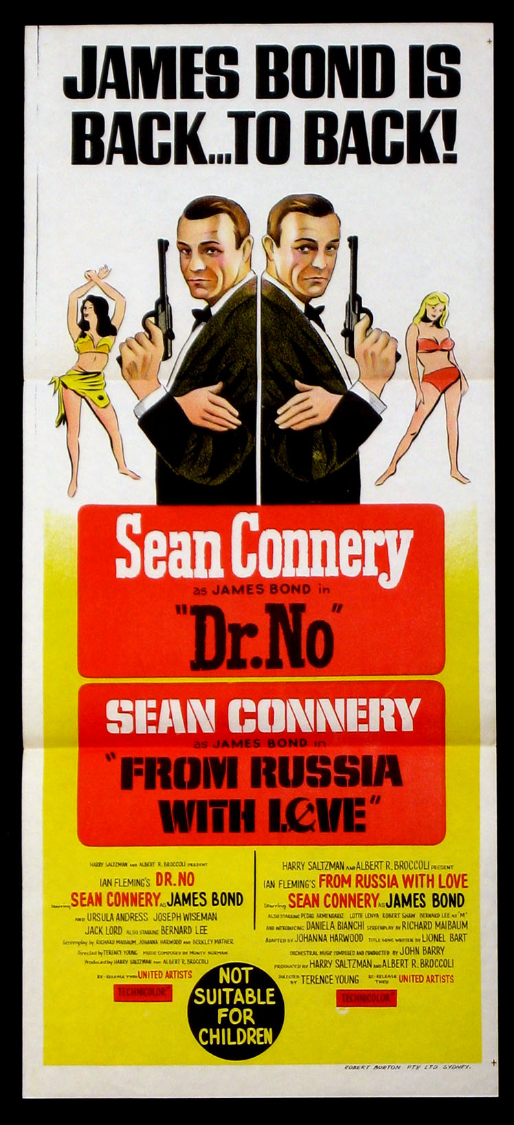 DOCTOR NO (DR. NO) / FROM RUSSIA WITH LOVE @ FilmPosters.com