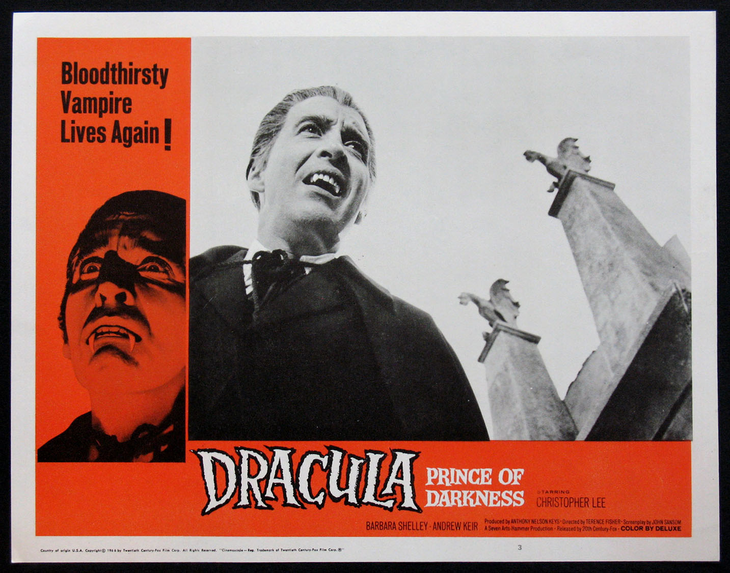 DRACULA PRINCE OF DARKNESS (Dracula, Prince of Darkness) @ FilmPosters.com