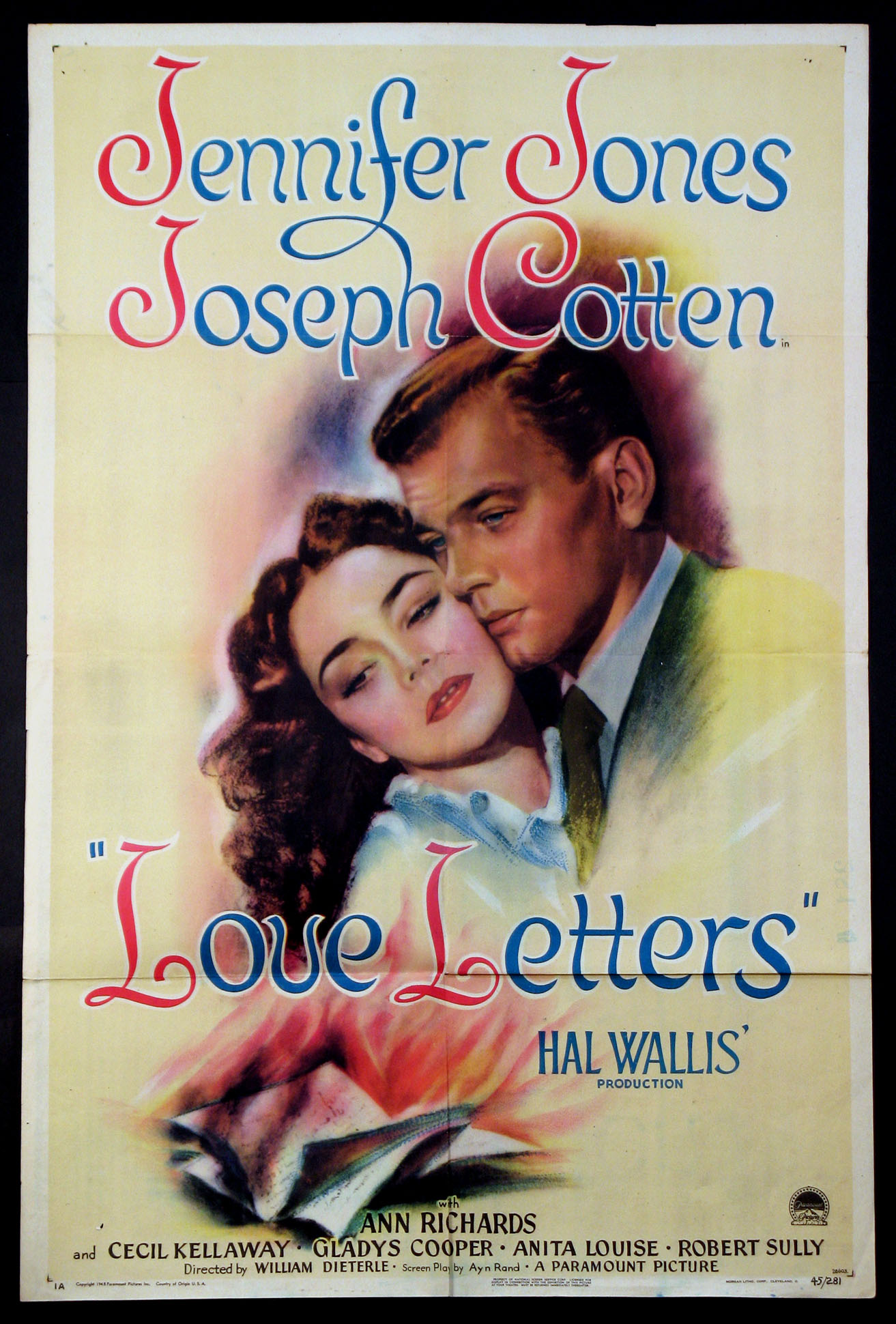 LOVE LETTERS @ FilmPosters.com