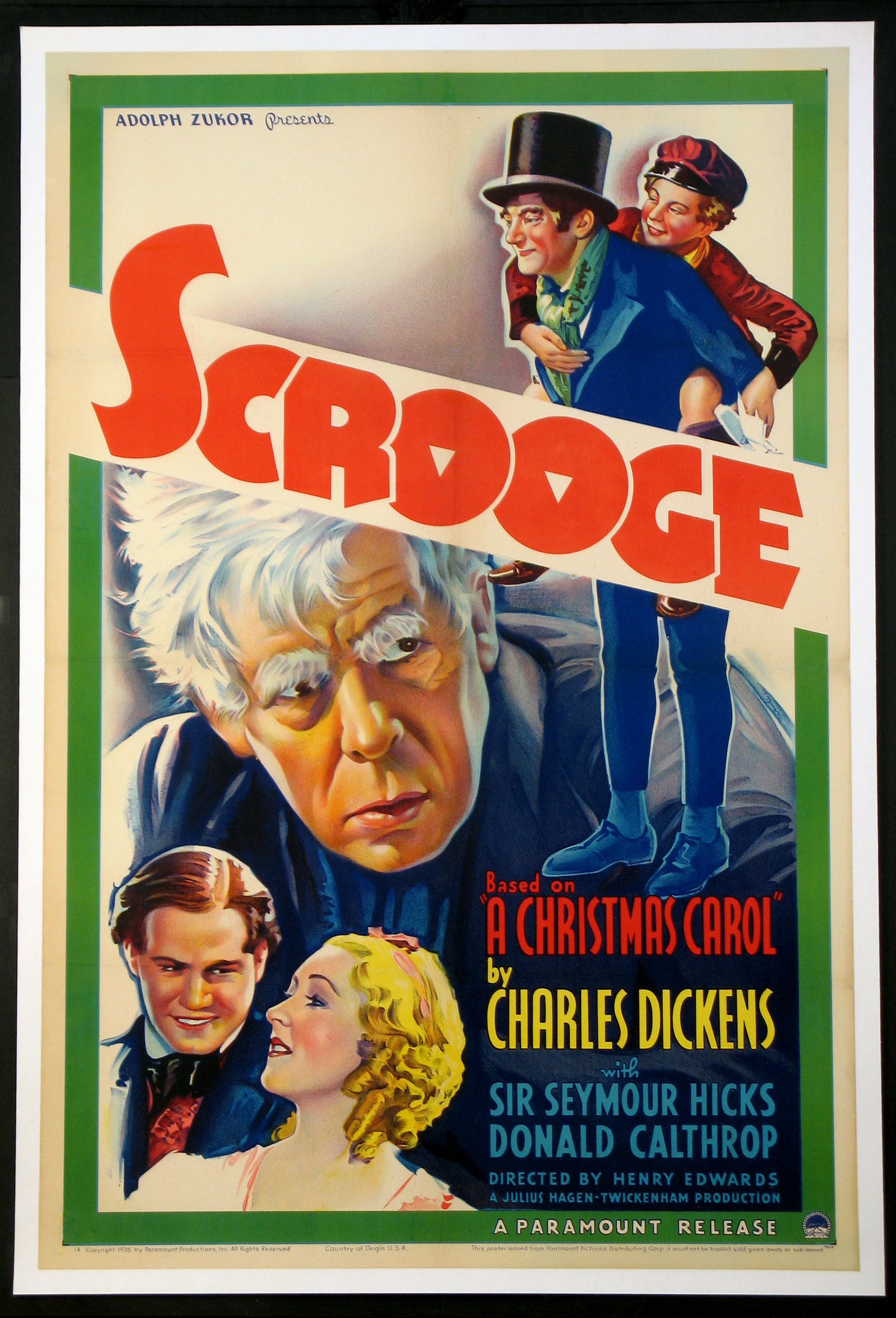 SCROOGE @ FilmPosters.com