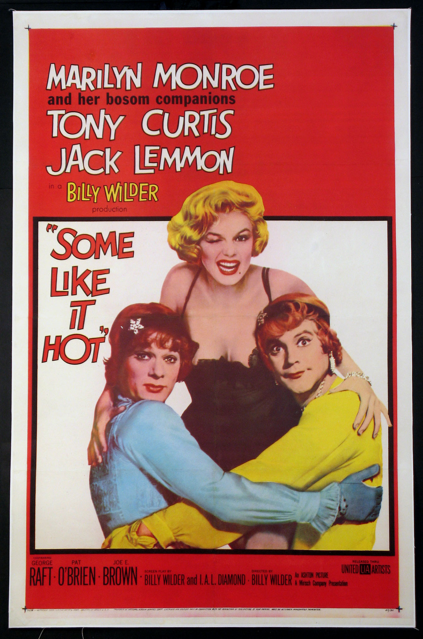 SOME LIKE IT HOT @ FilmPosters.com