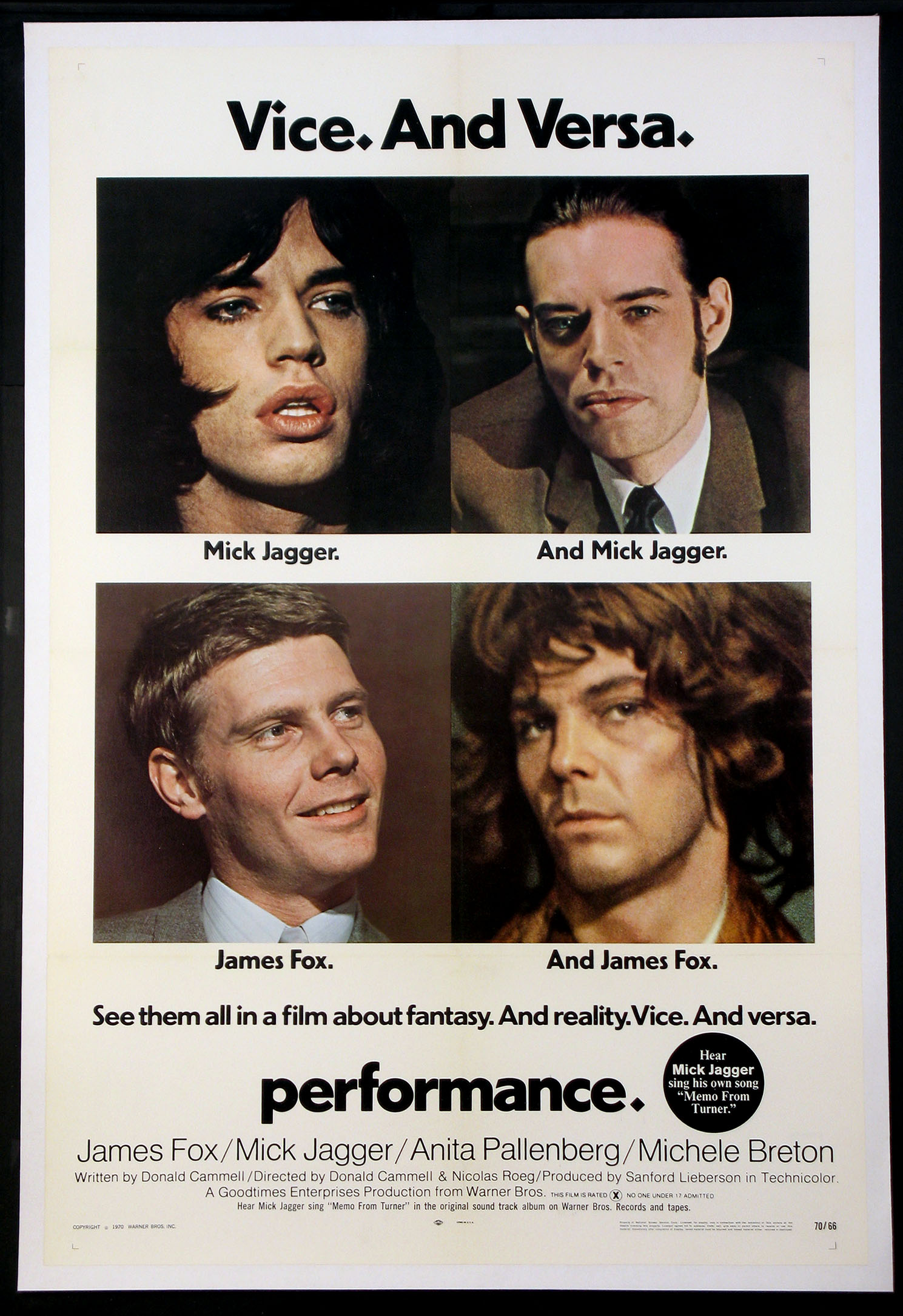 PERFORMANCE @ FilmPosters.com