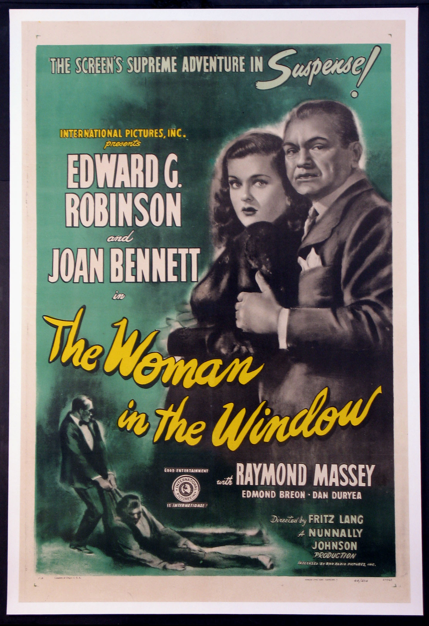WOMAN IN THE WINDOW @ FilmPosters.com