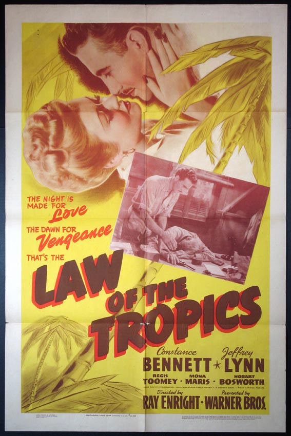 LAW OF THE TROPICS @ FilmPosters.com