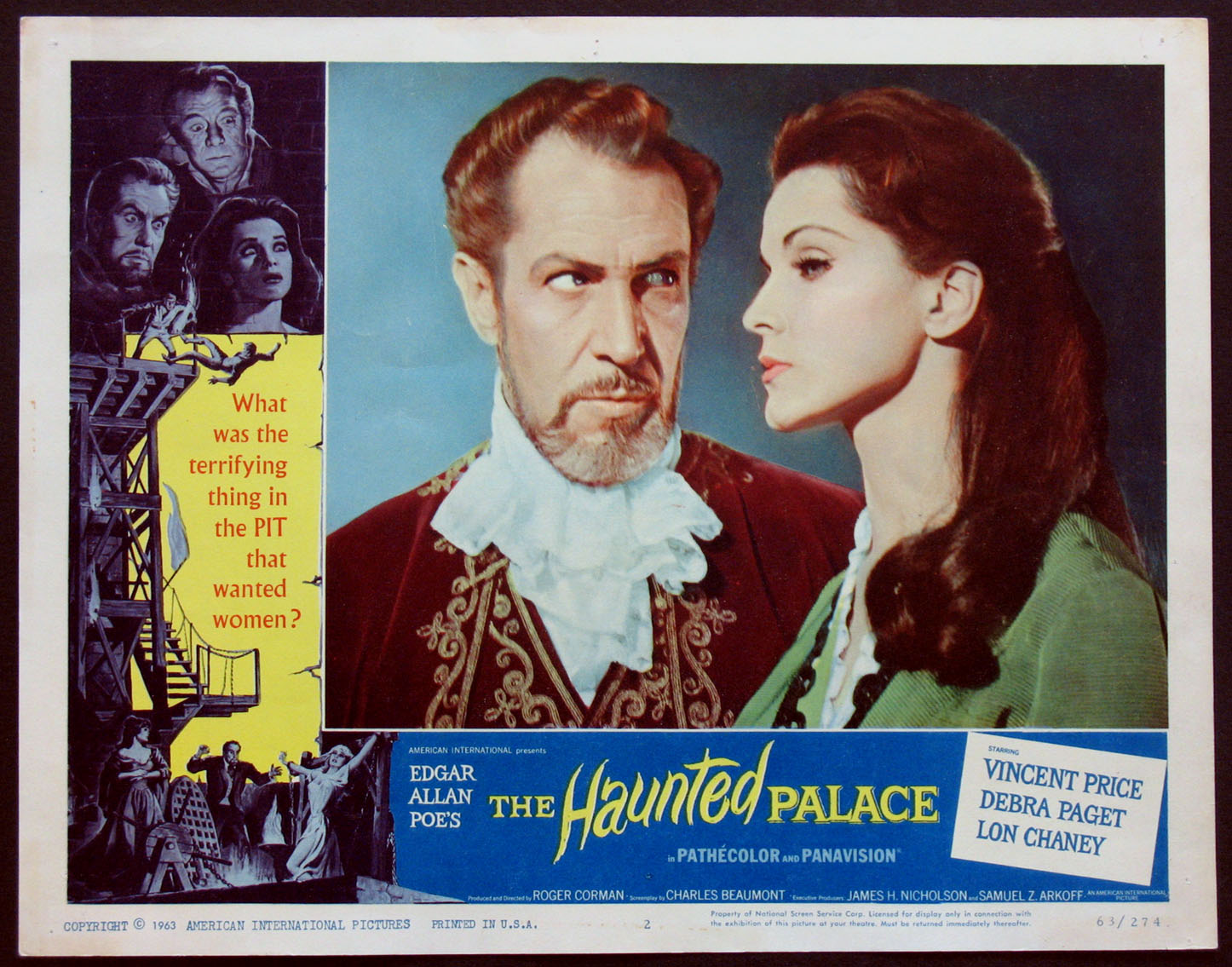 HAUNTED PALACE, THE @ FilmPosters.com