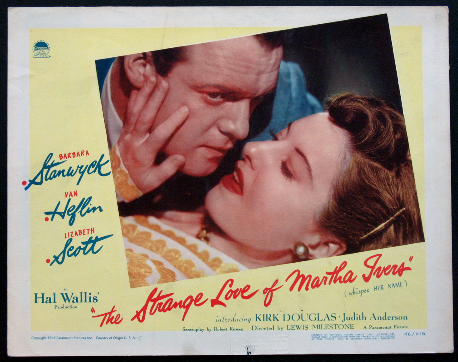 STRANGE LOVE OF MARTHA IVERS, THE @ FilmPosters.com