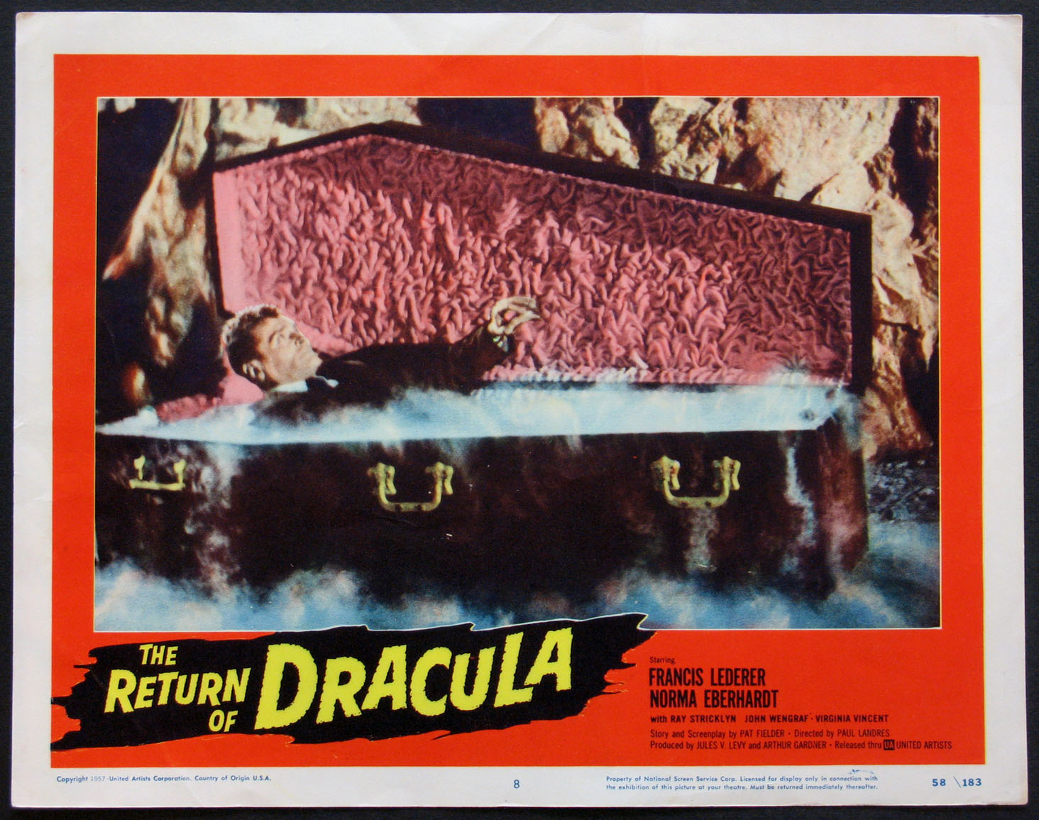 RETURN OF DRACULA, THE @ FilmPosters.com