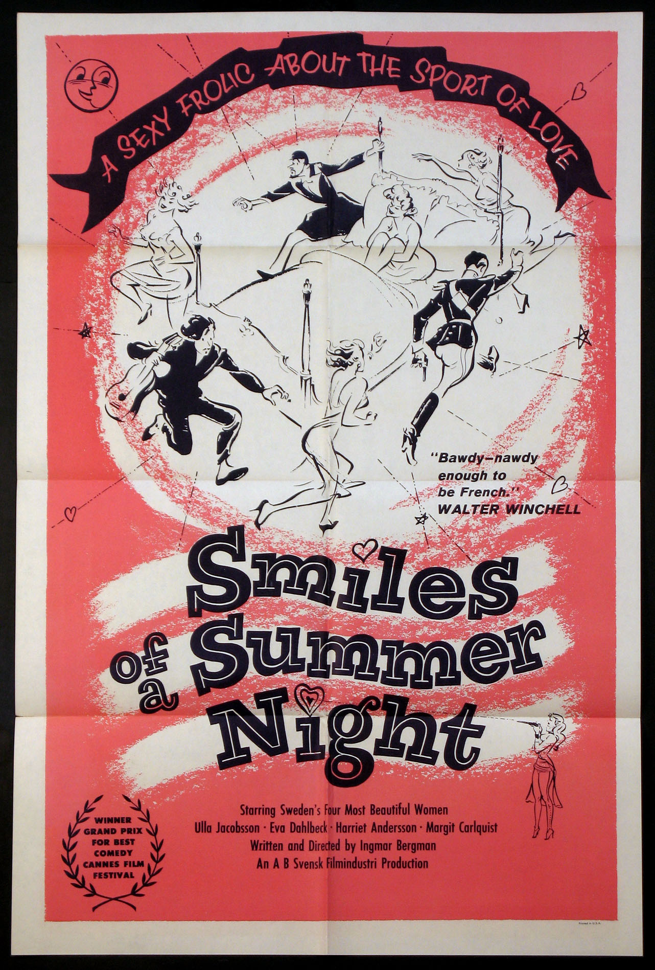 SMILES Of A SUMMER NIGHT @ FilmPosters.com