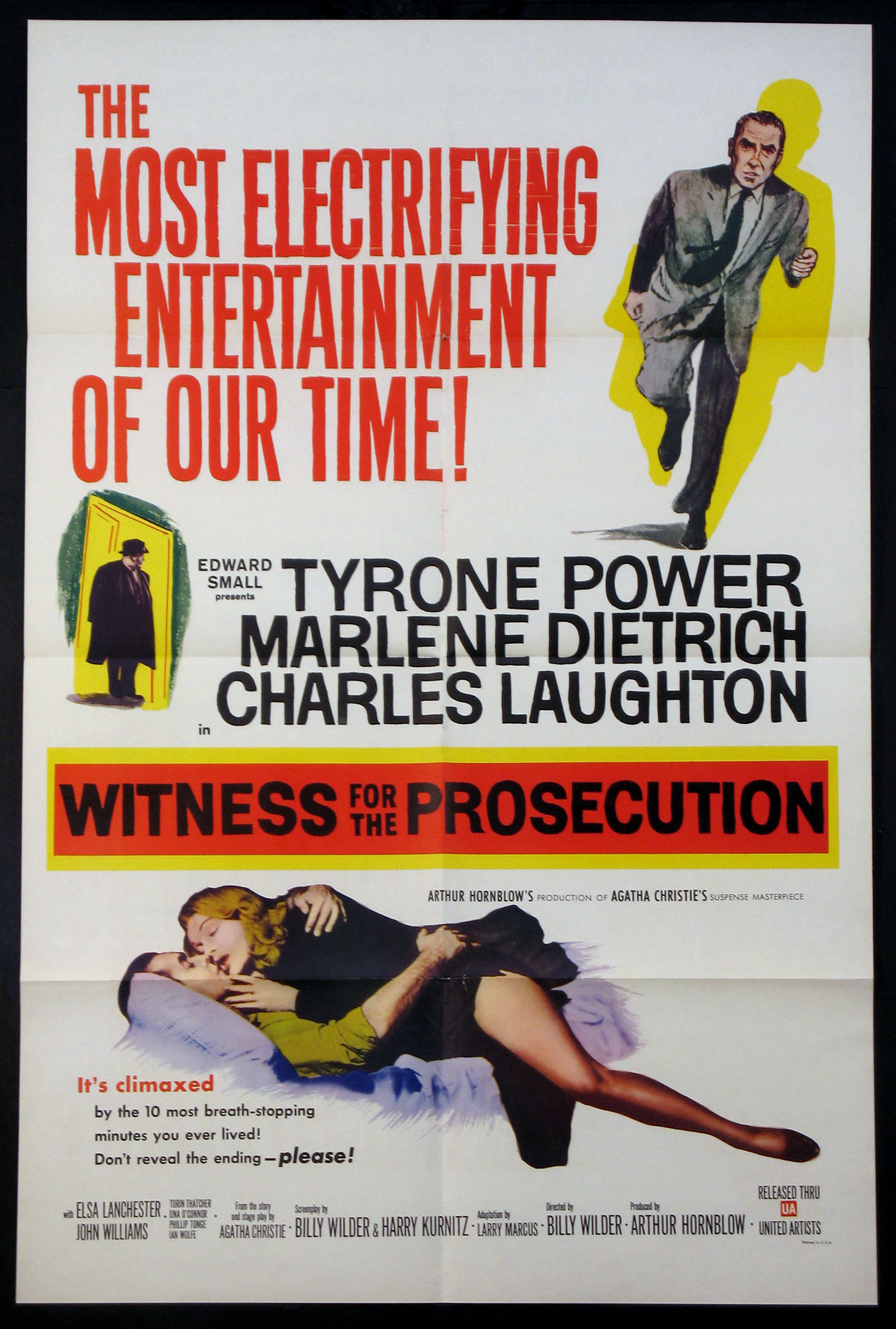 WITNESS FOR THE PROSECUTION @ FilmPosters.com