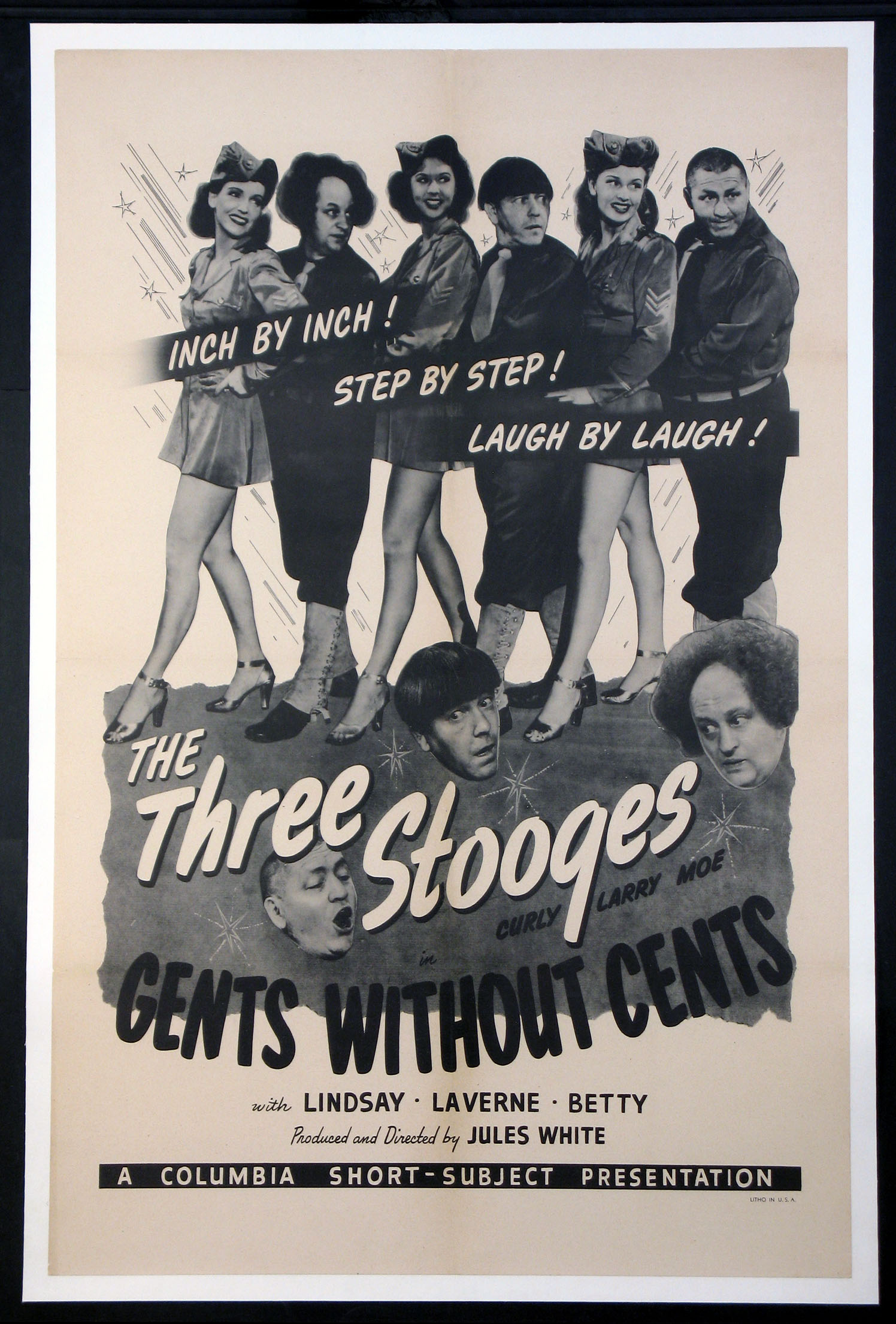 GENTS WITHOUT CENTS @ FilmPosters.com