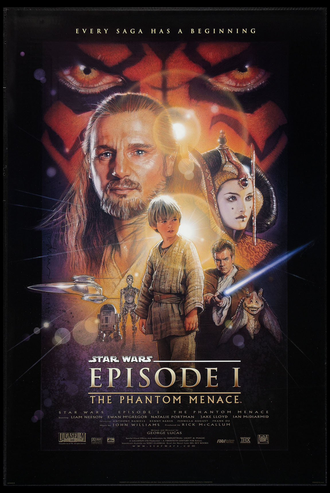 STAR WARS: Episode I - The Phantom Menace @ FilmPosters.com
