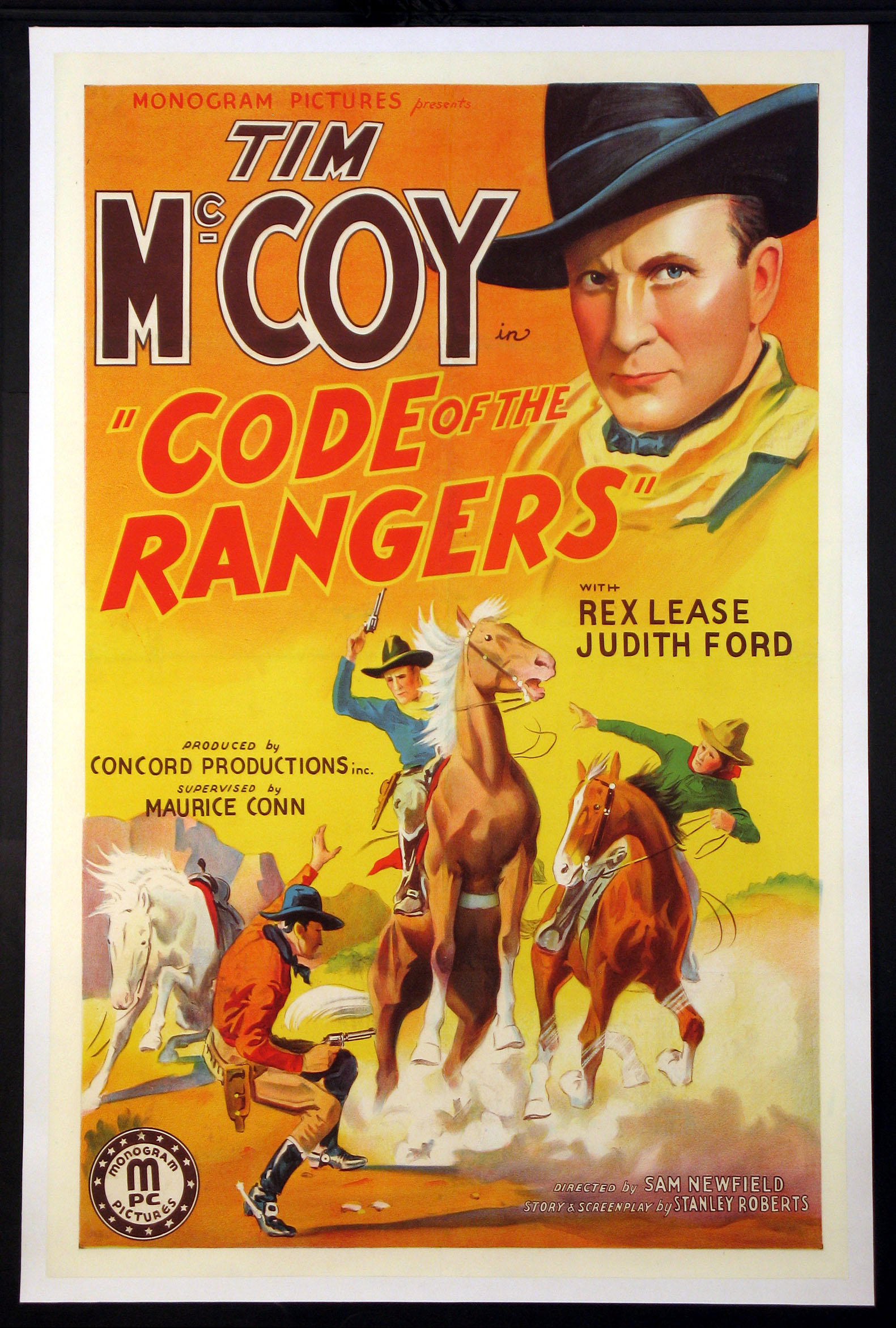 CODE OF THE RANGERS @ FilmPosters.com