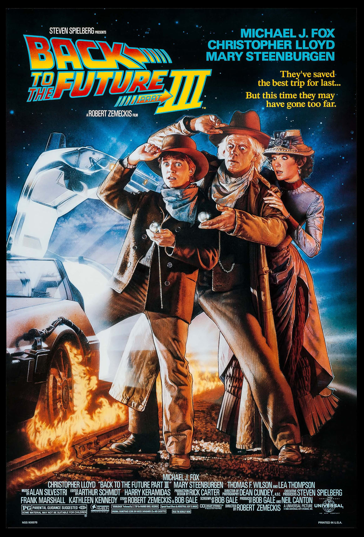 BACK TO THE FUTURE PART III @ FilmPosters.com