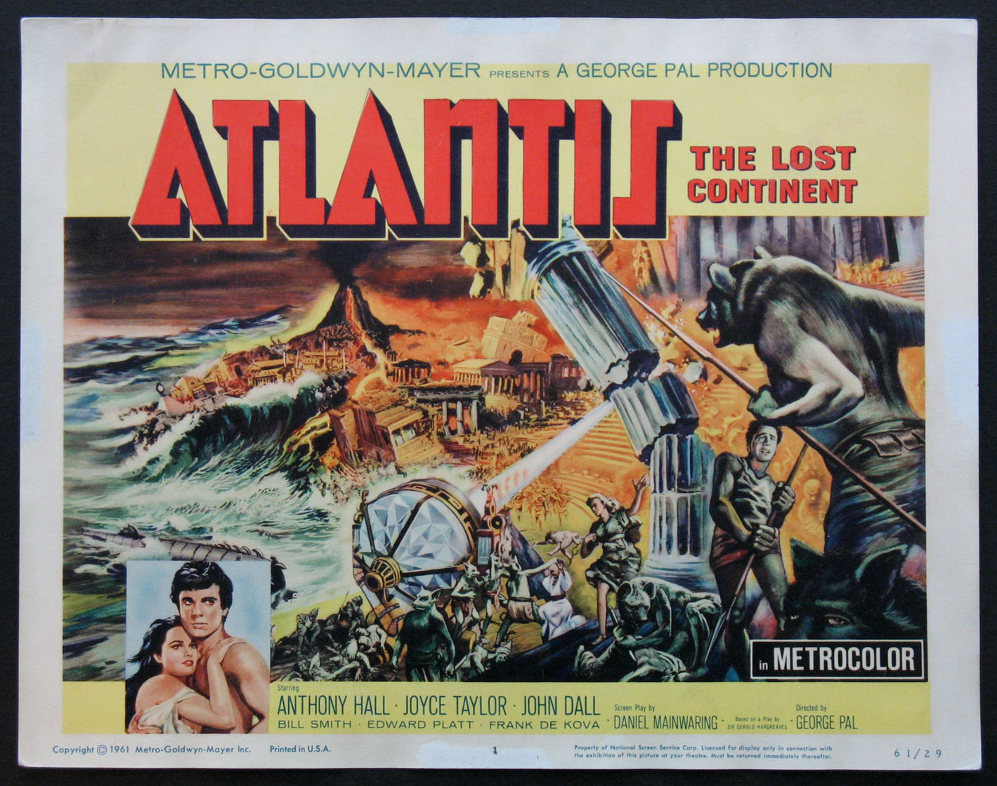 ATLANTIS, THE LOST CONTINENT @ FilmPosters.com