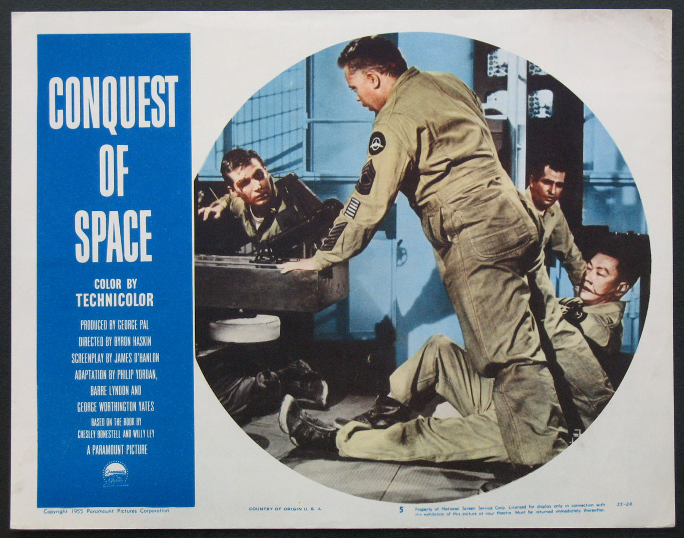 CONQUEST OF SPACE @ FilmPosters.com