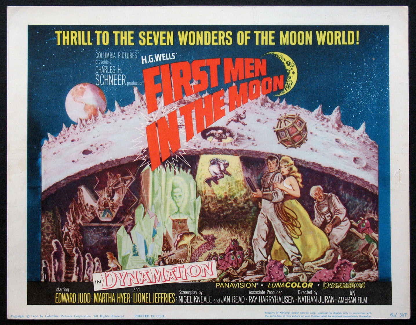 FIRST MEN IN THE MOON @ FilmPosters.com