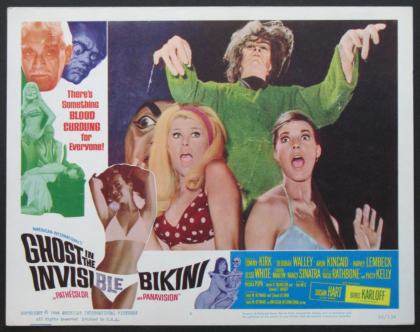 GHOST IN THE INVISIBLE BIKINI @ FilmPosters.com