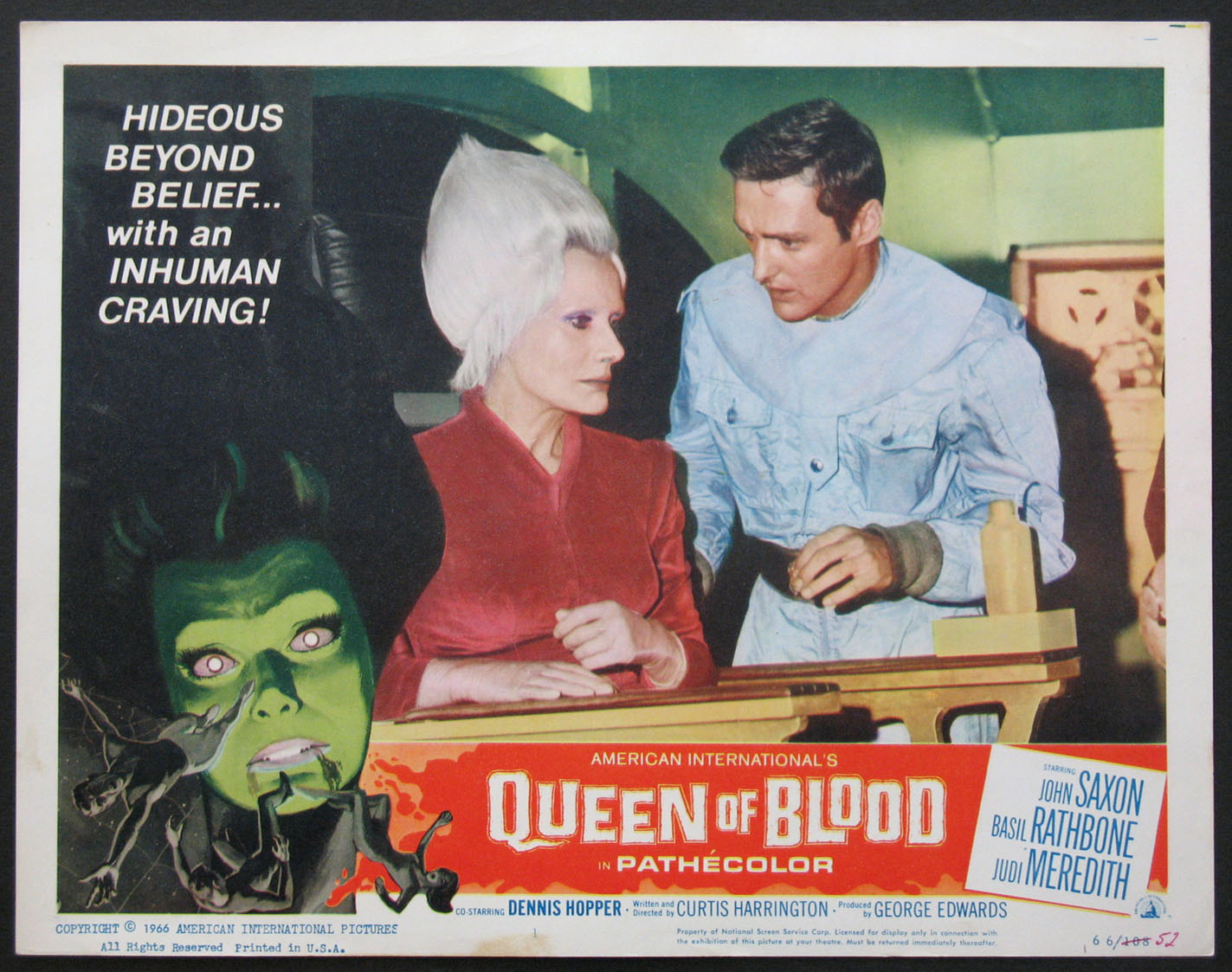 QUEEN OF BLOOD @ FilmPosters.com