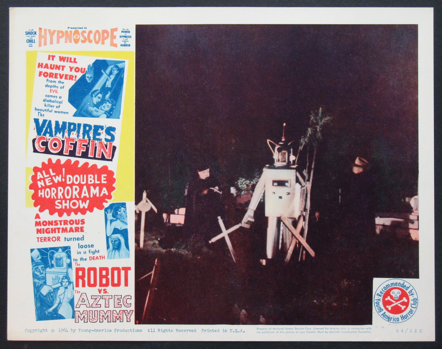 VAMPIRE'S COFFIN / THE ROBOT VS. THE AZTEC MUMMY @ FilmPosters.com