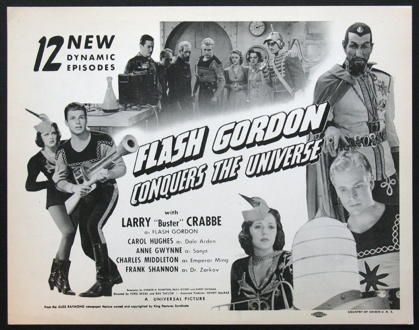 FLASH GORDON CONQUERS THE UNIVERSE @ FilmPosters.com