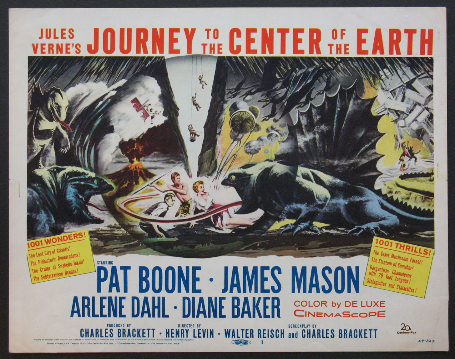 JOURNEY TO THE CENTER OF THE EARTH @ FilmPosters.com
