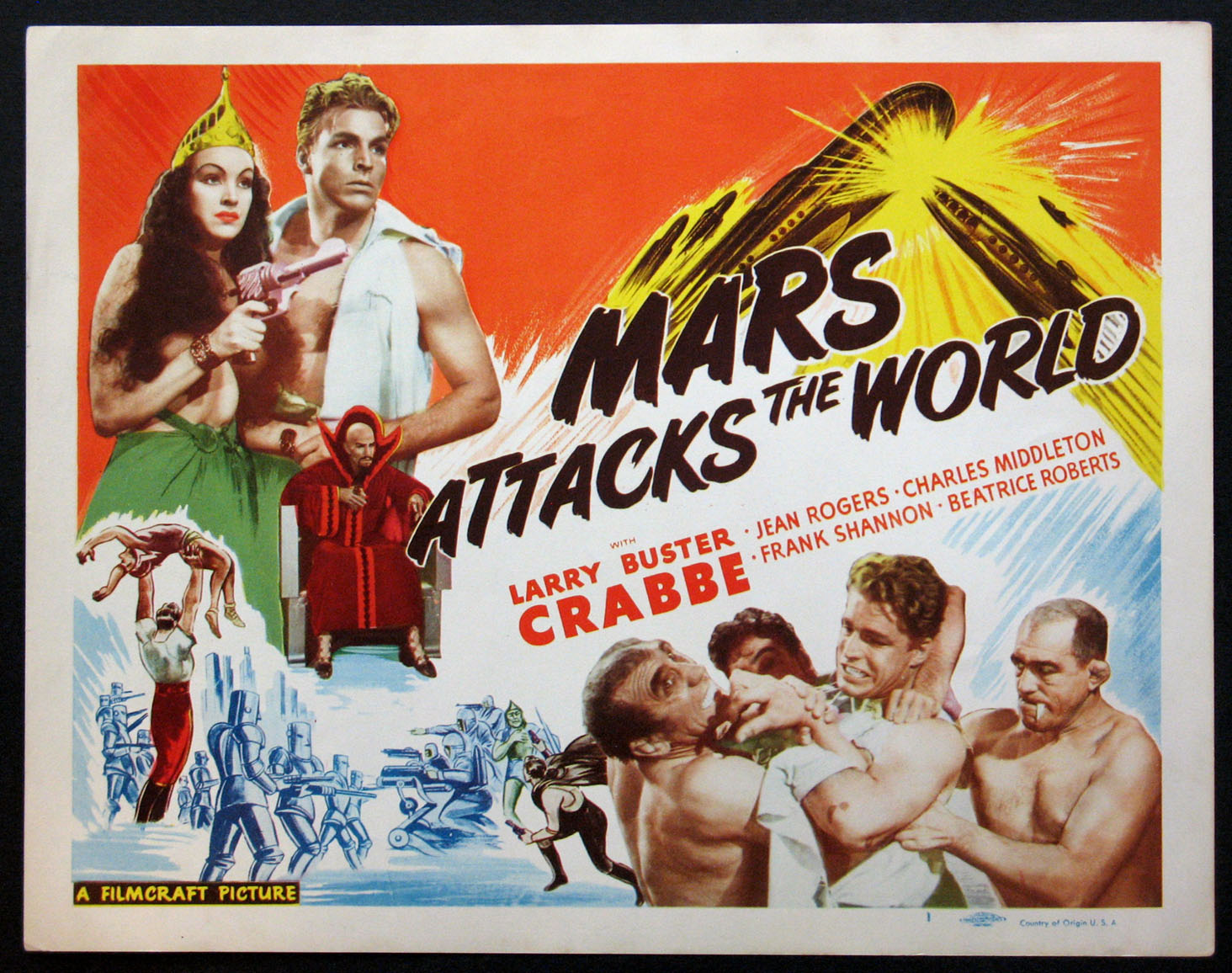 MARS ATTACKS THE WORLD (FLASH GORDON'S TRIP TO MARS) @ FilmPosters.com