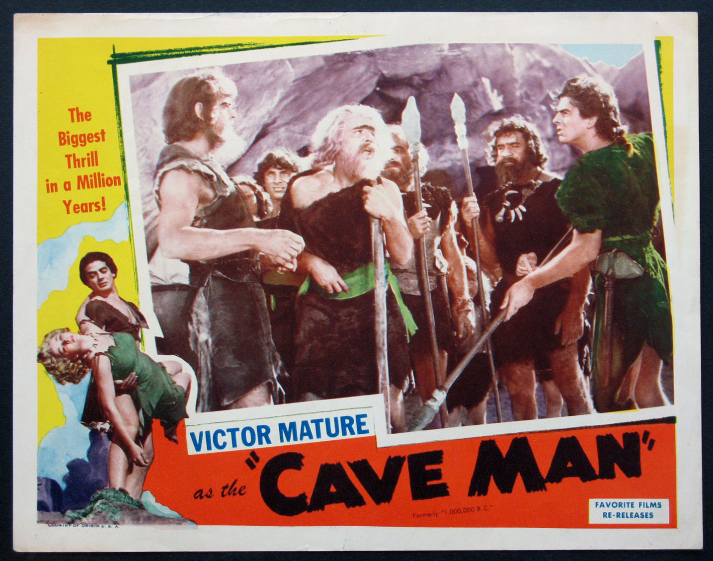 ONE MILLION B.C. (CAVE MAN) @ FilmPosters.com