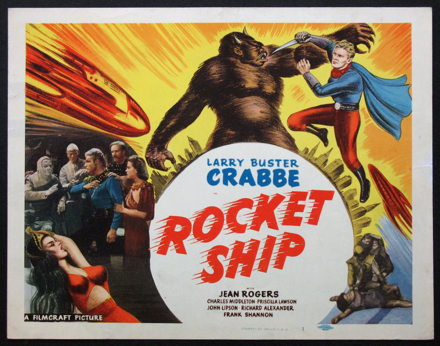 ROCKET SHIP (FLASH GORDON'S TRIP TO MARS) @ FilmPosters.com
