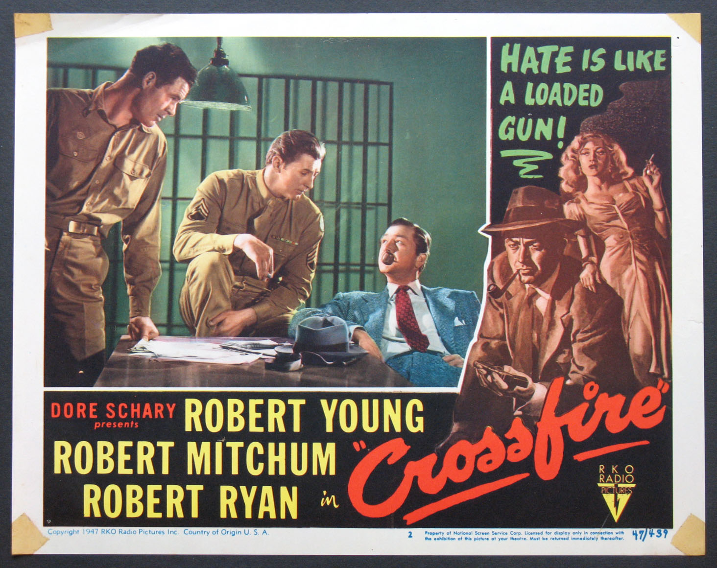 CROSSFIRE @ FilmPosters.com