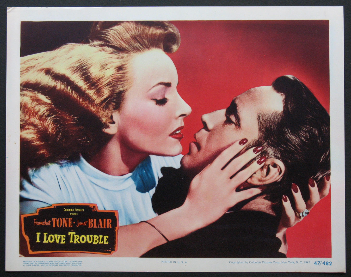 I LOVE TROUBLE @ FilmPosters.com