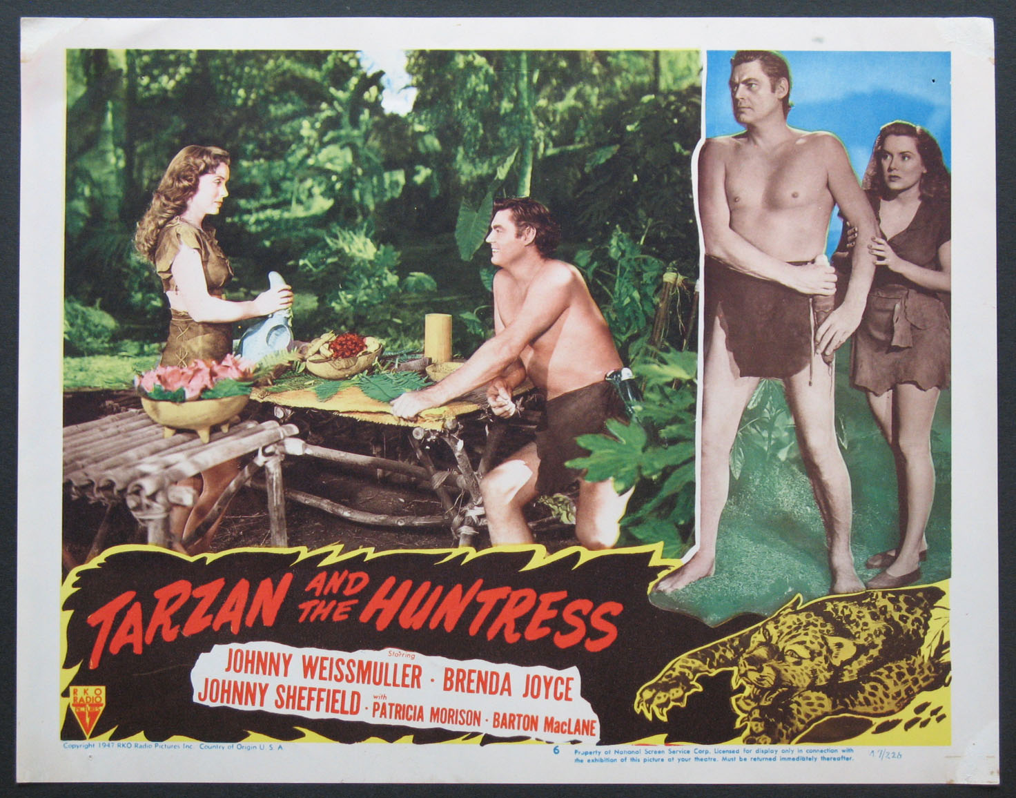 TARZAN AND THE HUNTRESS @ FilmPosters.com