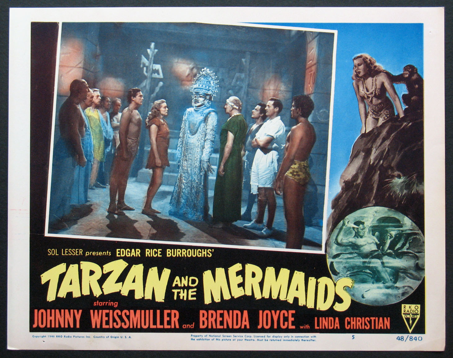 TARZAN AND THE MERMAIDS @ FilmPosters.com