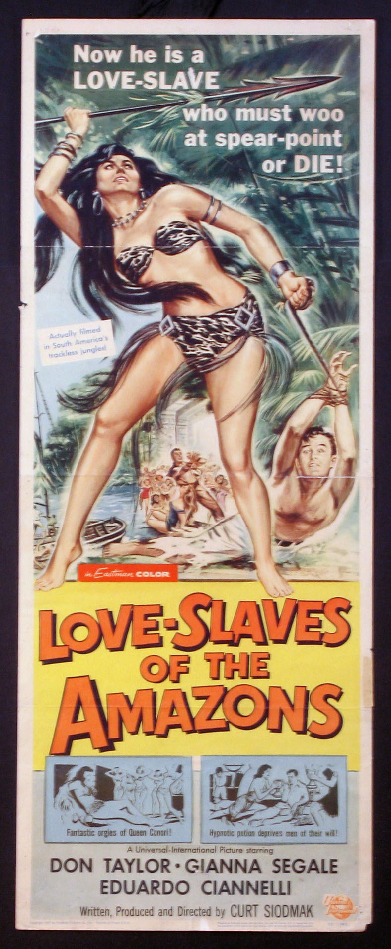 LOVE-SLAVES OF THE AMAZONS (Love Slaves of the Amazons) @ FilmPosters.com