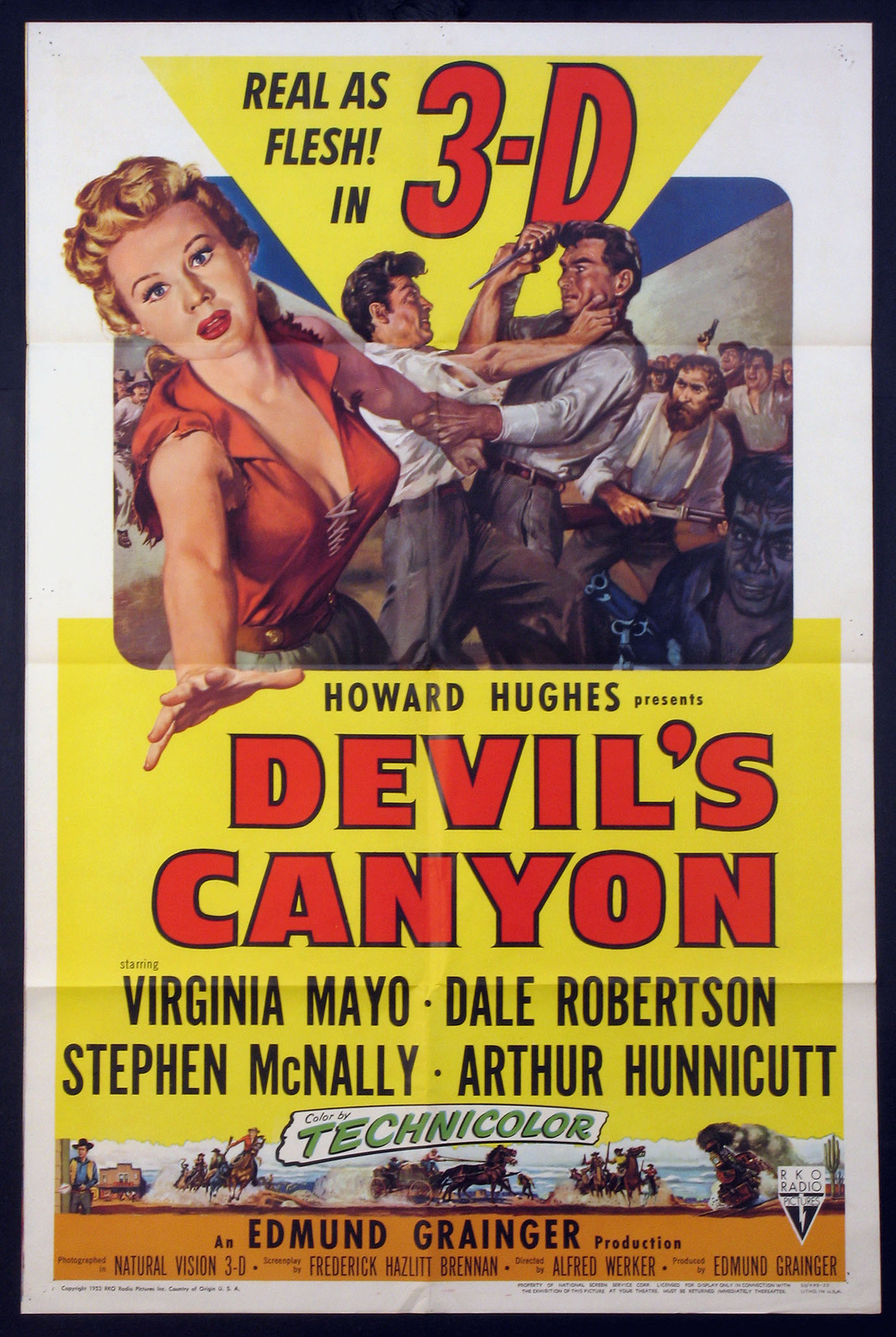 DEVIL'S CANYON @ FilmPosters.com