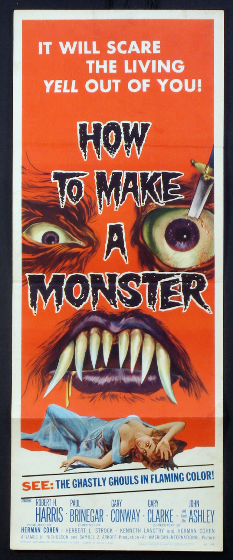 HOW TO MAKE A MONSTER @ FilmPosters.com
